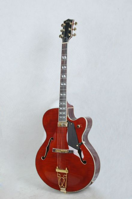 Alden AD143 Deep Body Jazz - Cherry Red